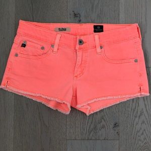 AG Adriano Goldschmied Daisy Low Rise Shorts